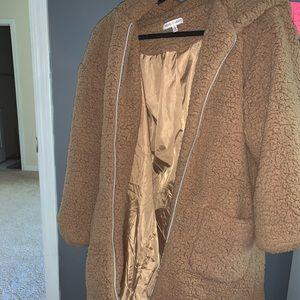 Teddy Style Long Jacket